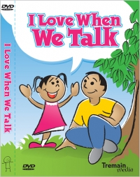 I Love When We Talk DVD cover literacy DVD